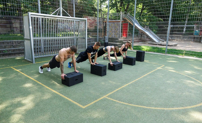 Mobiles Training mit Einsatz von Xbrick