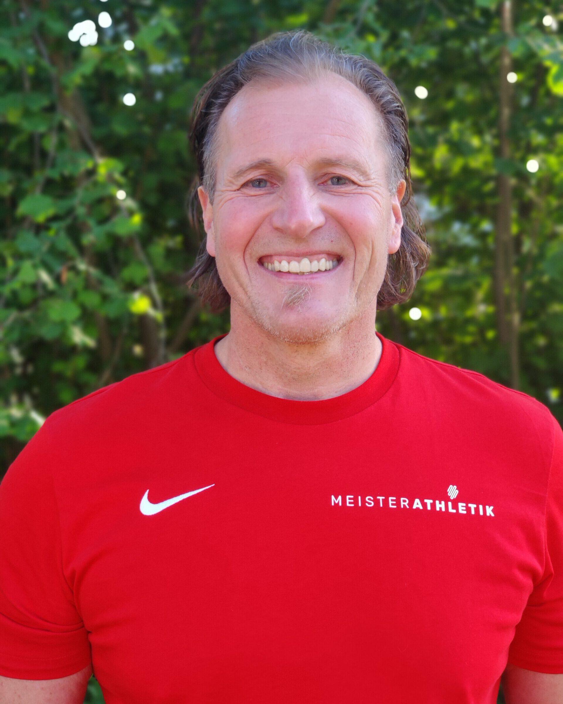 Porträt von Coach Matze Treiber