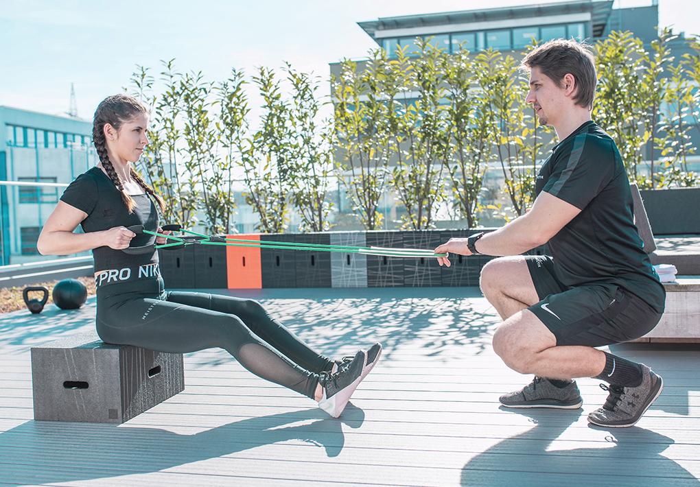 Personal Training (Fotograf Bernd Kammerer)